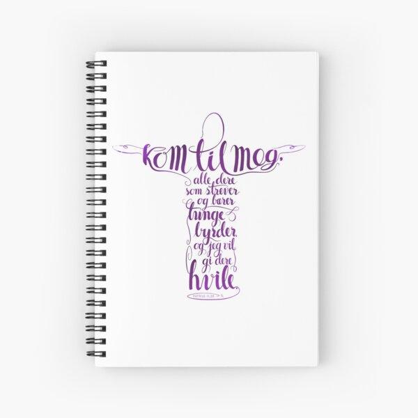 Kom til meg Spiral Notebook