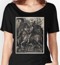 Albrecht Dürer Knight, Death and the Devil Women's Relaxed Fit T-Shirt