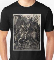Albrecht Dürer Knight, Death and the Devil Unisex T-Shirt