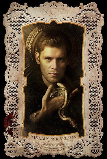Staffel 4 Von The Vampire Diaries Fotoshooting Klaus Mikaelson