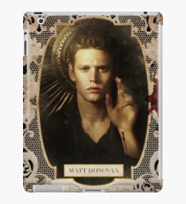 Season 4 of The Vampire Diaries Photoshoot: Matt Donovan iPad Case/Skin