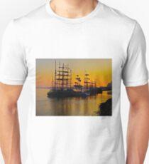 Tall ships at Greenwich Unisex T-Shirt
