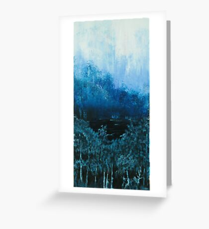 Moonlit Pool Greeting Card