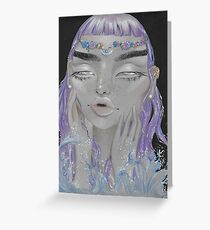 Lilac Fantasea Greeting Card