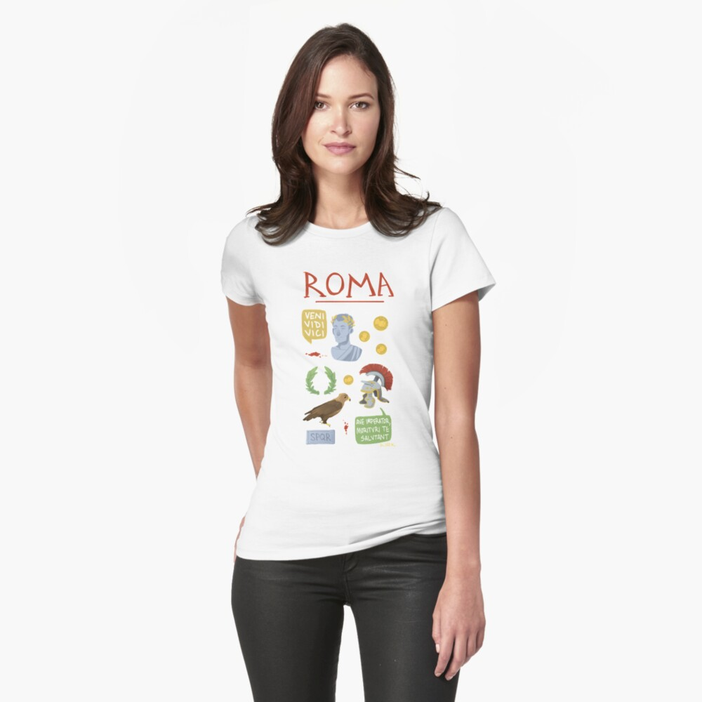 Roma Womens T-Shirt Front