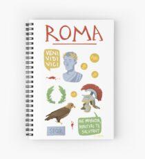Roma Spiral Notebook