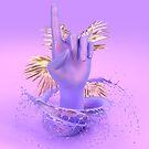 Purple Pointer by nickjaykdesign