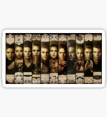 Season 4 of The Vampire Diaries Photoshoot: Cast Sticker