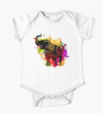 Vector Ethnic elephant Kids Clothes