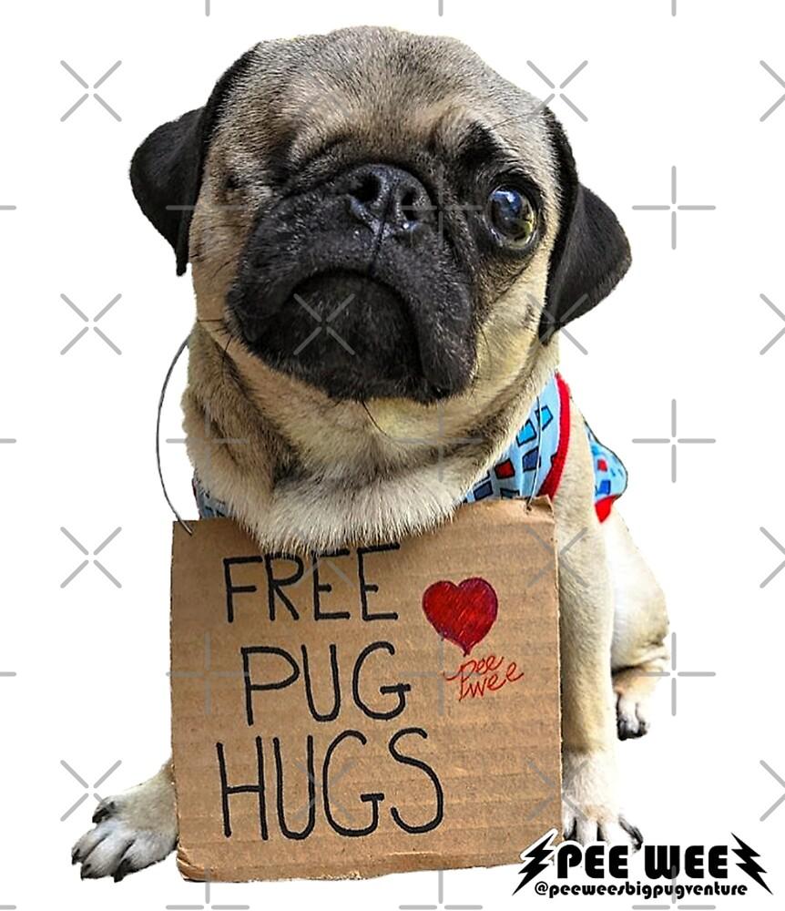 Free Pug Hugs by darklordpug