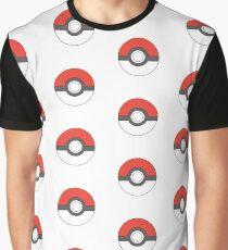 Classic Pokeball (large) Graphic T-Shirt