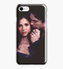 Damon & Elena - Delena - The Vampire Diaries iPhone Case/Skin