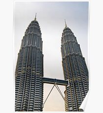 The KLCC Twin Towers Poster