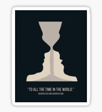 To All The Time In The World - Johnlock Sticker