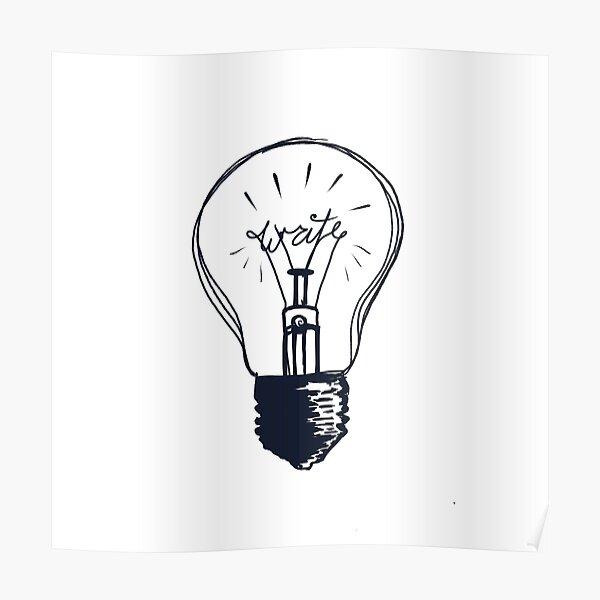 The Write Light Poster
