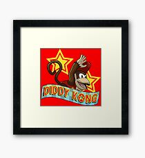 Diddy Kong Framed Print