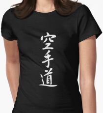 Karate Women's Fitted T-Shirt