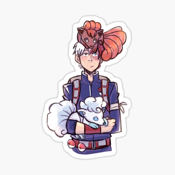Todoroki Trainer Sticker