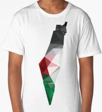 Palestine Poly Long T-Shirt
