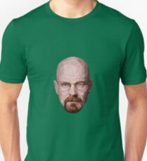 Walter White Digital Art T-Shirt
