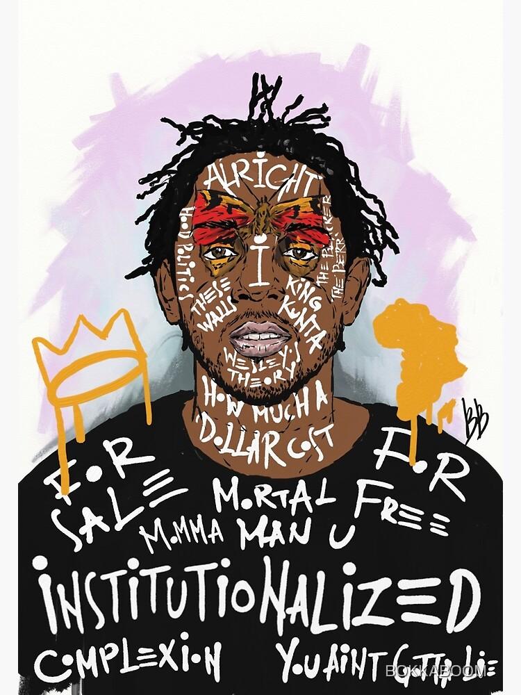Kendrick Lamar by BOKKABOOM