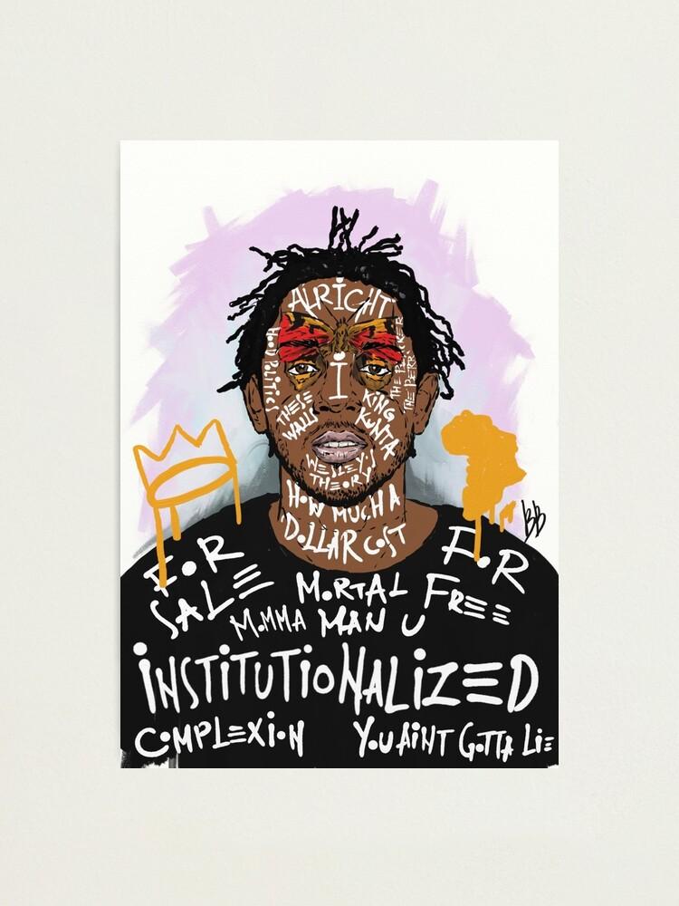 Alternate view of Kendrick Lamar Photographic Print