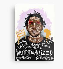 Lámina metálica Kendrick Lamar