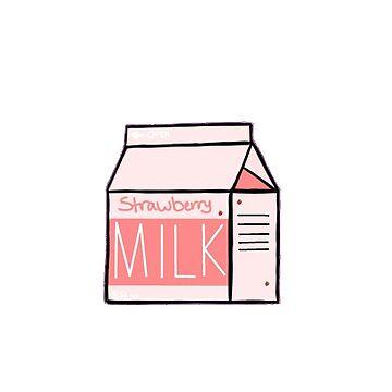 Strawberry Milk by shibas