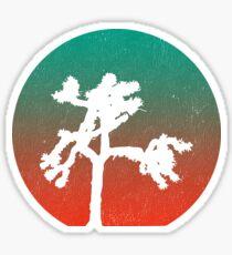 Joshua Tree at Dawn Sticker