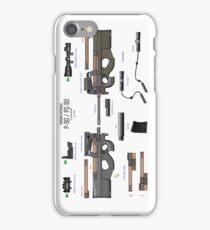 FN Herstal P90 PS90 sub machine gun iPhone Case/Skin