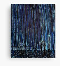 Caught In The Rain #4 Canvas Print