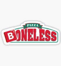 Boneless Pizza B Emoji Sticker
