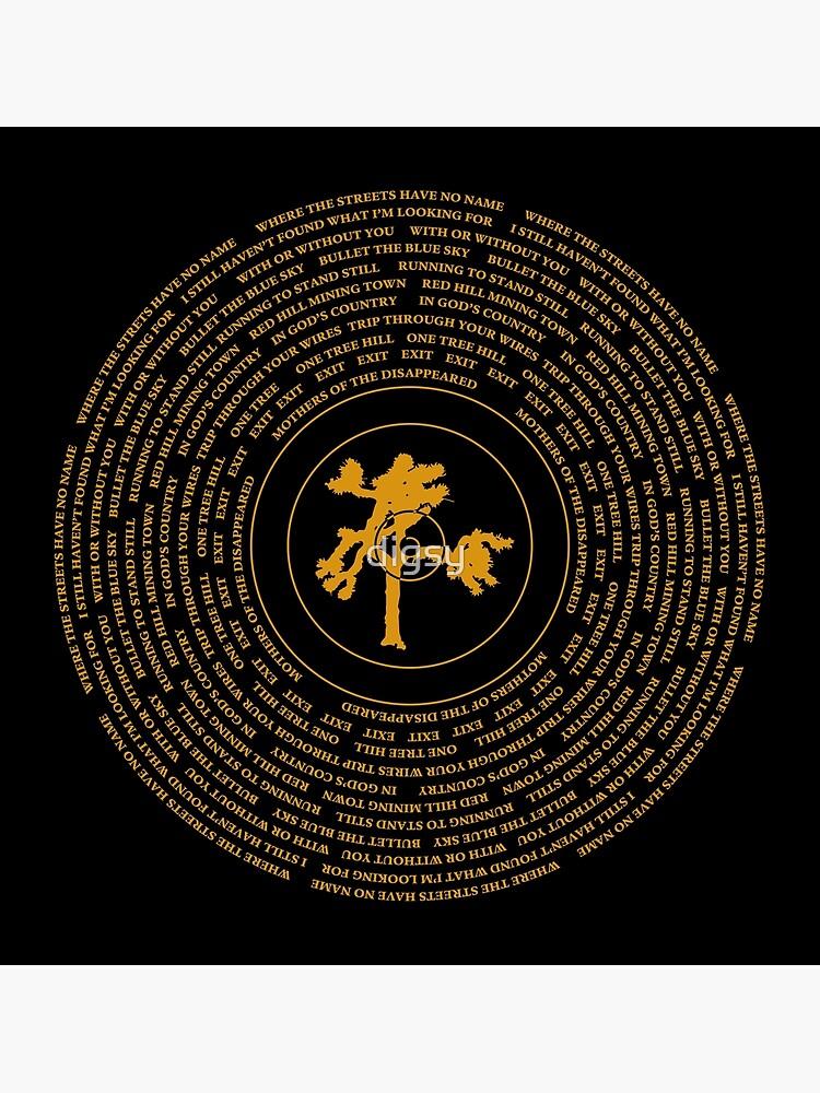 Joshua Tree Vinyl by digsy