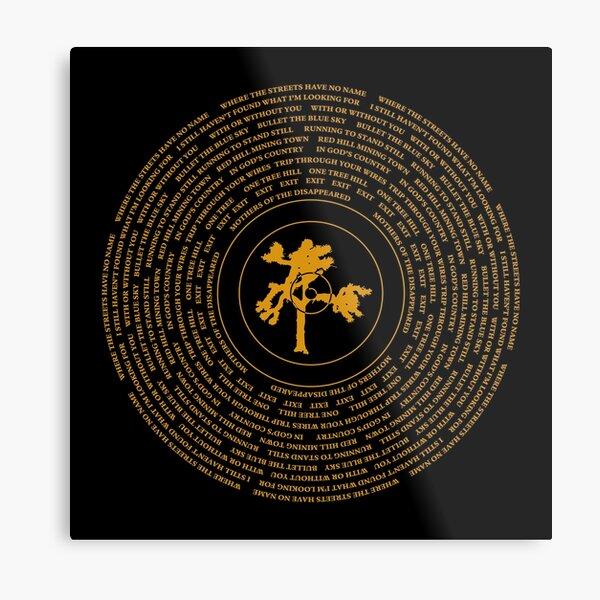 Joshua Tree Vinyl Metal Print