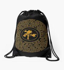 Joshua Tree Vinyl Drawstring Bag