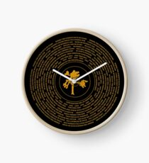Joshua Tree Vinyl Clock