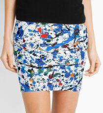 Blue #22 Mini Skirt