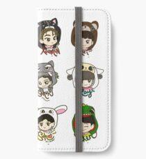 EXO Animal Onsies iPhone Wallet