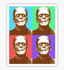 Scrabble Frankenstein's Monster x 4 Sticker