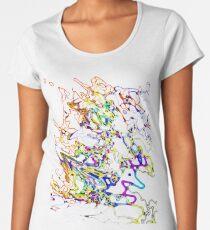Cosmic Squiggles Women's Premium T-Shirt