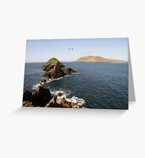 Dingle sea view Greeting Card
