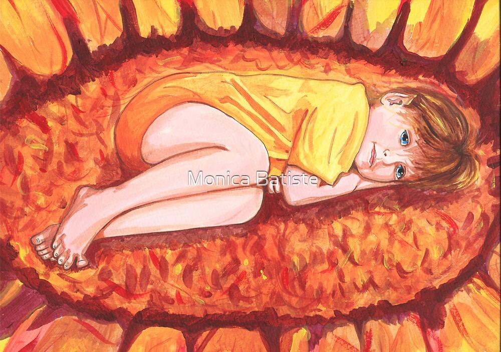 Sunflower Fairy by Monica Batiste