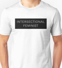 intersektionale Feministin Slim Fit T-Shirt