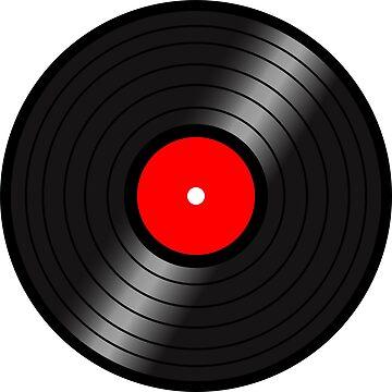 Vinyl LP(red center version) by nealdepinto