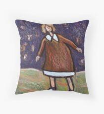 The Fairy Dance Throw Pillow