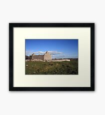 Rural Burren Church ruins Framed Print
