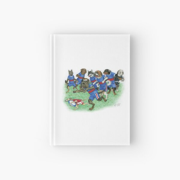 Rugby Dogs Hardcover Journal