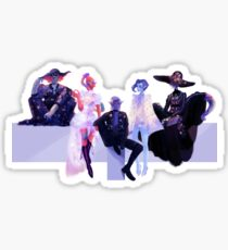 Lotor and the Space Lesbians Sticker