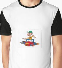 Rocket-boy small Graphic T-Shirt