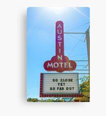 Austin Motel, Austin, Texas Canvas Print